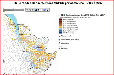 Rendement Gironde